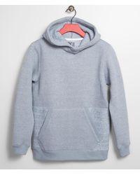 BKE Boys - World Wonderer Hooded Sweatshirt - Blue