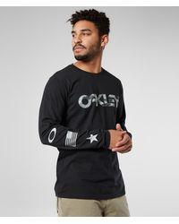 Oakley Long Sleeve Camo T-shirt - Black