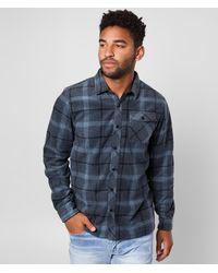 O'neill Sportswear Glacier Peak Fleece Shirt - Blue