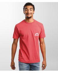 Vissla Samong T-shirt - Red