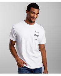 RVCA X Everlast® Stack T-shirt - White