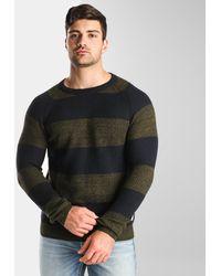 Jack & Jones ® Striped Knit Sweater - Multicolor