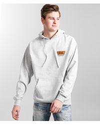 Brixton Linwood Hooded Sweatshirt - Gray