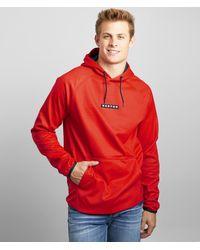 Burton Crown Weatherproof Hooded Sweatshirt - Red