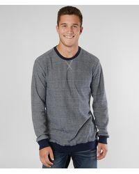 RVCA Luxury Crew Neck Pullover - Blue