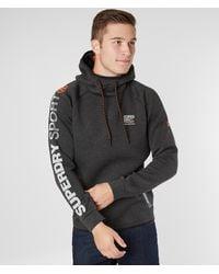 Superdry ® Sport Gym Tech Hooded Sweatshirt - Gray