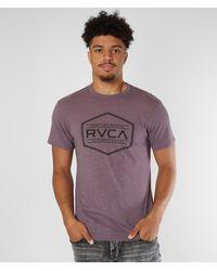 RVCA Hex Label T-shirt - Purple