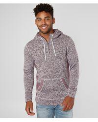 BKE Cozy Hooded Sweatshirt - Purple