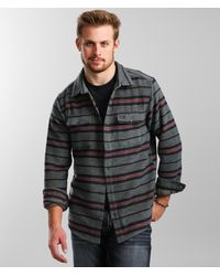 RVCA - Blanket Flannel Shirt - Lyst