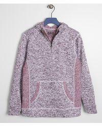 BKE Boys - Cozy Hooded Sweatshirt - Purple