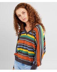 RVCA Carter Striped Sweater - Multicolor