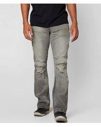 Affliction Black Premium Kane Straight Jean - Gray