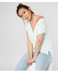 Free People Sundance Slouchy T-shirt - Multicolor
