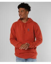 Burton Mountain Hooded Sweatshirt - Orange
