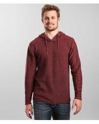 BKE Joshua Hooded Sweater - Red