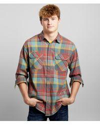 Burton Brighton Flannel Shirt - Red