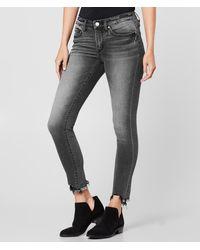BKE Stella Mid-rise Ankle Skinny Stretch Jean - Gray