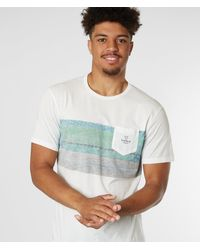 Vissla Woodside Pocket T-shirt - White