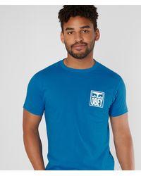 Obey Eyes Icon T-shirt - Blue