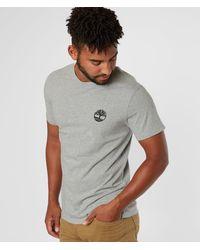 Timberland - ® Back Camo Logo T-shirt - Lyst