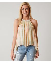 Free People Season In The Sun Tank Top - Green