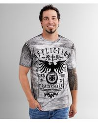 Affliction Tried Dusk T-shirt - Gray