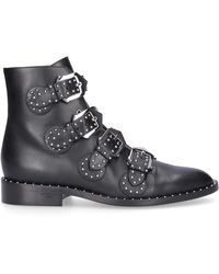 Givenchy K-line Leather Boots - Black