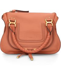 Chloé - Brown Small Marcie Bag - Lyst