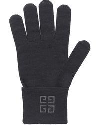 Givenchy Gloves Bgz01u Wool - Multicolour