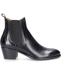 Elia Maurizi Ankle Boots Black Alfa