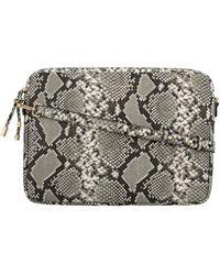 Maison Héroïne Laptop Bag Jamie 15 Vegan Leather - Grey