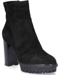 Gianvito Rossi - Ankle Boots G73855 Suede Black - Lyst