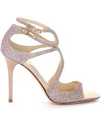 Jimmy Choo Strappy Sandals - Pink