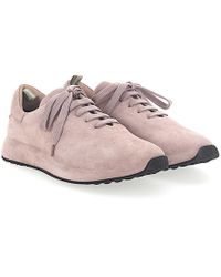 Officine Creative - Trainers Race Suede Rosé - Lyst