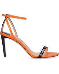 Jimmy Choo Minny 85 Sandaletten - Orange