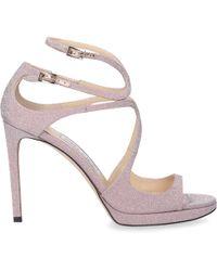 Jimmy Choo Platform Sandals Lance - Pink
