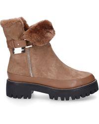 Gianni Renzi Platform Boots 0680 - Natural