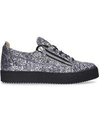Giuseppe Zanotti Schuhe Sneaker low FRANKE Glitter - Grau