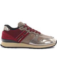 Hogan Rebel Sneaker R261 Leder rot