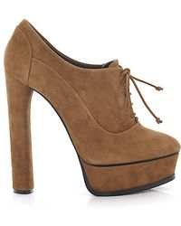 Casadei Schuhe Stiefeletten Braun braun