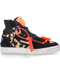 Off-White c/o Virgil Abloh Off-white? Off Court 3.0 Suede & Haircalf Sneaker - Black