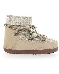 Inuikii Ankle Boots Beige Lady Beige - Natural