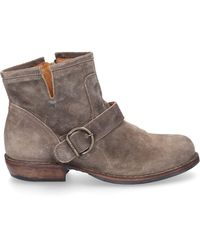 Fiorentini + Baker Ankle Boots Beige Chad - Natural