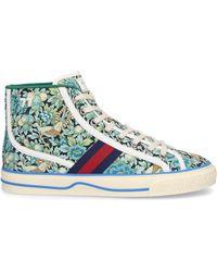 Gucci Schuhe Sneaker high TENNIS 1977 Canvas - Grün