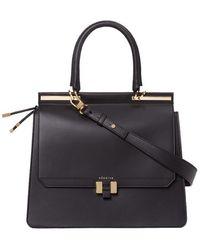 Maison Héroïne Handbag Marlene 15 Calfskin - Black