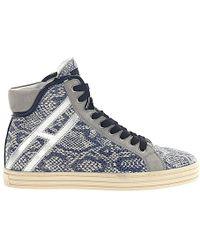 Hogan High-top Sneakers R182 - Blue