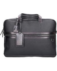 Santoni - Business Bags A1938 Calfskin - Lyst