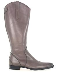 Santoni Boots Calfskin - Grey