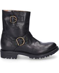 Fiorentini + Baker Boots Black Cusna
