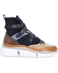 Chloé Sonnie High-top Sneakers - Blue